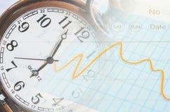 Концепция времени дела Стоковые Фото