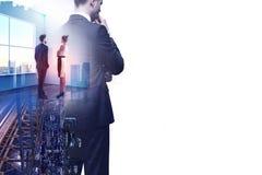 Концепция встречи и исполнительной власти Стоковое Изображение RF