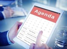 Концепция встречи события календаря план-графика назначения стоковые фото