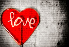 Концепция влюбленности Стоковые Фото