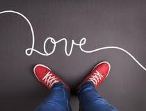 Концепция влюбленности Стоковая Фотография RF