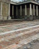 Концепция года сбора винограда времен старомодного grungy стиля строя римская Стоковое фото RF