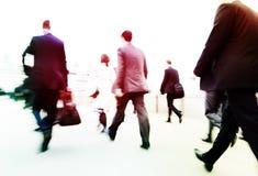 Концепция города дела работы пути регулярных пассажиров пригородных поездов Стоковые Фотографии RF