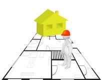 Концепция гражданского строительства Стоковое Изображение