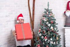 Концепция давать и обменом подарка Стоковые Изображения RF