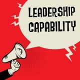 Концепция дела возможности руководства Стоковые Изображения