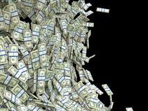 Концепция дела и финансов: пуки долларов США Стоковая Фотография