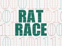 Концепция дела: Крысиная гонка на предпосылке стены