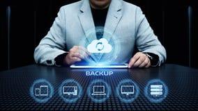 Концепция дела технологии интернета данным по резервной копии данных стоковое фото rf