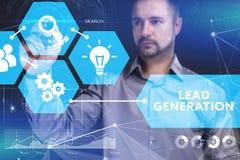 Концепция дела, технологии, интернета и сети Молодое busine Стоковые Изображения