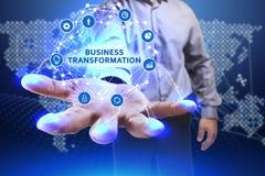 Концепция дела, технологии, интернета и сети Молодое busine Стоковая Фотография RF