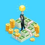 Концепция дела crowdfunding Стоковые Фото