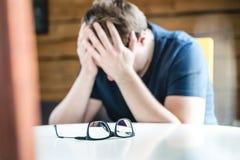 Концепция дискриминации, одиночества, психических здоровий или депрессии стоковая фотография rf