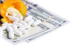 Концепция для медицинских расходов Стоковая Фотография RF
