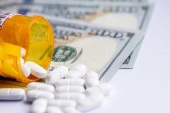 Концепция для медицинских расходов Стоковая Фотография