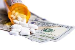 Концепция для медицинских расходов Стоковые Изображения RF