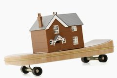 Концепция для moving дома Стоковые Фото
