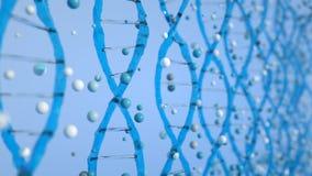 концепция ДНК конспекта 4K бесплатная иллюстрация