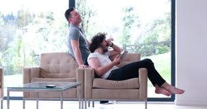 Концепция дома влюбленности пар гомосексуалиста Стоковое Фото