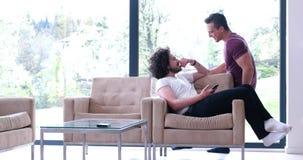 Концепция дома влюбленности пар гомосексуалиста Стоковые Фото