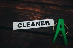 Концепция дома или офиса чистки Стоковое Изображение RF