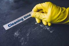 Концепция дома или офиса чистки стоковая фотография