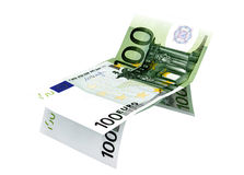 Концепция евро денег Стоковое фото RF