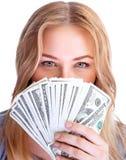 Концепция денег сбережений Стоковые Фото