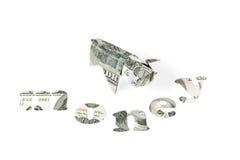 Концепция денег с свиньей Стоковая Фотография RF