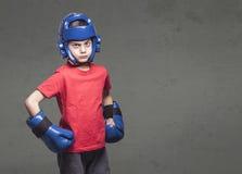 Концепция детей боевых искусств Стоковое Фото