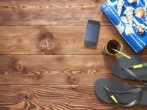 Концепция летнего отпуска и каникул Стоковое фото RF