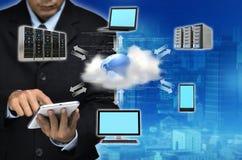 Концепция дела облака интернета стоковые фотографии rf
