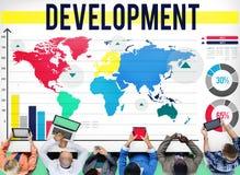 Концепция дела управления улучшения роста развития Стоковое фото RF
