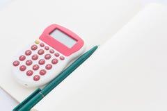 Концепция дела для бухгалтера и студента Стоковое Фото