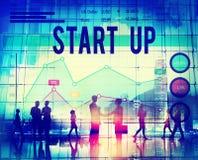 Концепция дела Startup успеха роста новая Стоковые Изображения