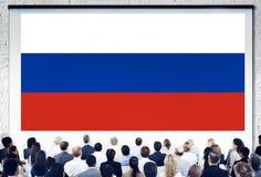 Концепция единства гордости патриотизма флага России русская Стоковые Изображения RF
