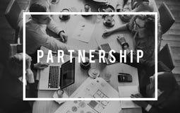 Концепция единства отношения ассоциации союзничества партнерства Стоковое фото RF