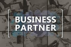 Концепция делового партнера Стоковые Фото