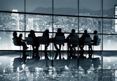 Концепция деловой встречи Гонконга стоковое изображение