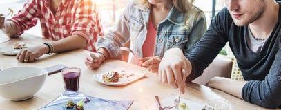 Концепция еды еды Dinning еды здоровая Стоковые Фотографии RF
