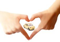 Концепция заботы автомобиля стоковые изображения rf