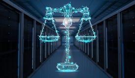 Концепция закона интернета Стоковая Фотография RF