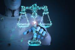 Концепция закона интернета Стоковая Фотография