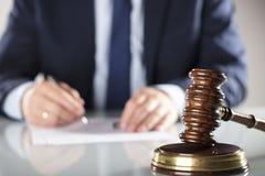 Концепция закона и дела Стоковые Изображения RF