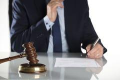 Концепция закона и дела Стоковые Фото