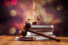Концепция закона на backgronud Стоковое Изображение RF