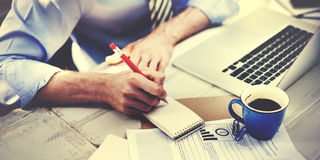 Концепция занятия мастерской дела корпоративная фокусируя Стоковые Фотографии RF