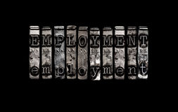 Концепция занятости Стоковое Изображение RF