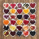 Концепция здоровой еды антоцианина Стоковое Изображение RF