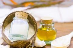 Концепция здоровья курорта кокоса Стоковое Фото